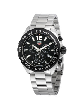 Formula 1 Chronograph Black Dial Men's Watch by Tag Heuer
