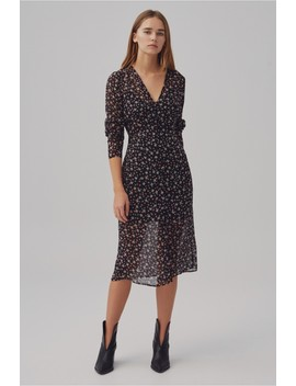 Current Long Sleeve Midi Dress by Bnkr
