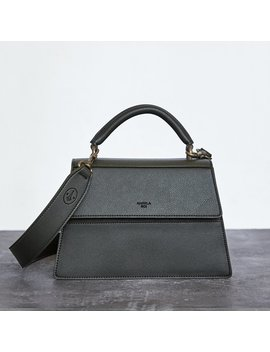 Hamilton     Satchel [Signet]   Dark Green        Hamilton     Satchel [Signet]   Dark Green by Angela Roi