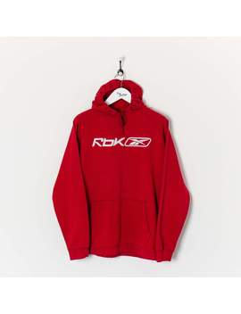 Reebok Hoodie Red Large by Reebok