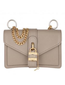 Shoulder Bag Leather Motty Grey by Chloé