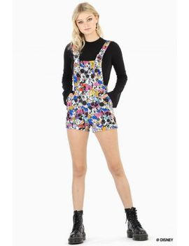 Sticker Mickey And Friends Short Overalls Bm Fit   Limited by Black Milk