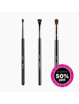 Primary Eye Brush Trio by Sigma Beauty