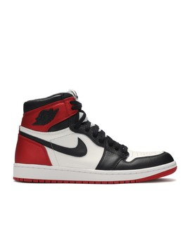 "Wmns Air Jordan 1 Retro High Og ""Satin Black Toe"" by Air Jordan"