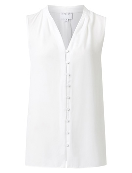 Button Detail Shirt by Witchery