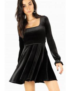 Black Velvet Bon Bon Dress Bm Fit   Limited by Black Milk