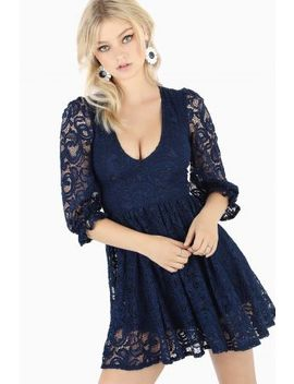 Once Upon A Time 3/4 Sleeve Dress Bm Fit   Limited by Black Milk