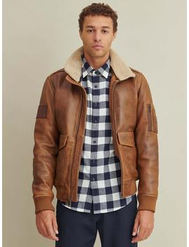 Aviator Leather Jacket by Wilsons Leather
