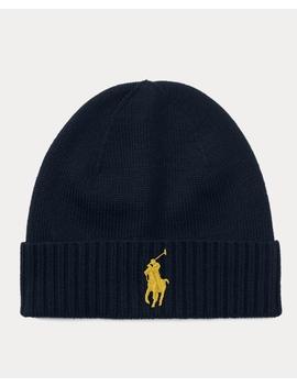 Golden Pony Hat by Ralph Lauren