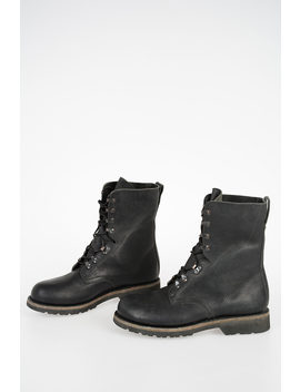 Mm22 Leather Boots by Maison Margiela