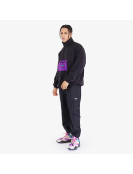 Reebok Cl F Trail Half Zip Polar Fleece   Black by Pro Direct Select