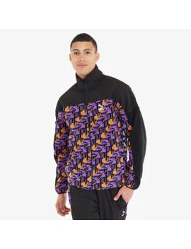 Puma Xtg Woven Jacket Aop   Orange/Purple by Pro Direct Select