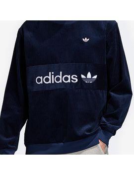 Adidas Samstag Cord Sweatshirt   Night Indigo by Pro Direct Select