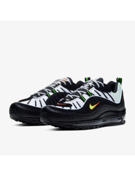 Nike Air Max 98   Platinum Tint/Black by Pro Direct Select