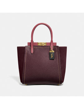 Troupe Tote In Colorblock by Coach