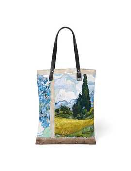 Impressions Of Nature Collage Tote by The Metropolitan Museum Of Art