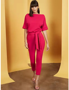 Madie Dolman Jumpsuit   7th Avenue by New York & Company
