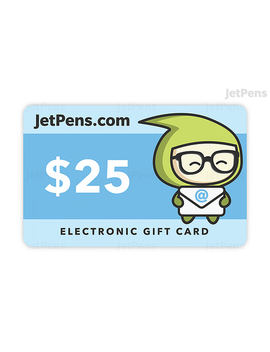 Jet Pens Gift Card   E Mail Delivery by Jet Pens