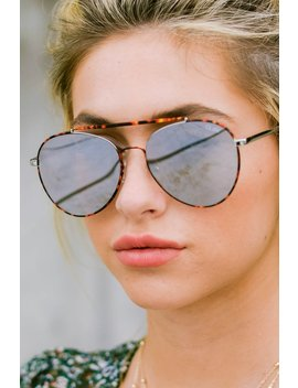 Lickety Split Tortoise Brown Fade Sunglasses by Quay Australia