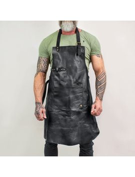 Classic Leather Apron by Mahi Leather