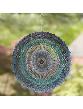 Mandala Wind Spinner by Uncommon Goods