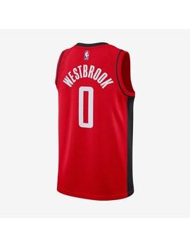 Nike Nba Russel Westbrook Houston Rockets Road Swingman Jersey   University Red by Pro Direct Select
