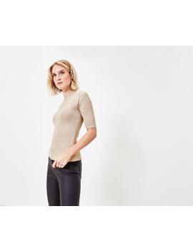 Sparkle Short Sleeve Jumper by Oasis
