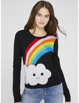 Ao X Friendswithyou Pullover by Alice And Olivia