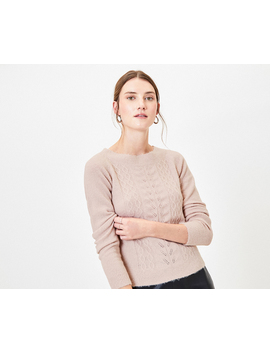 Sparkly Cable Knit Jumper by Oasis