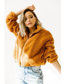 Night Fever Camel Jacket by Luca And Grae