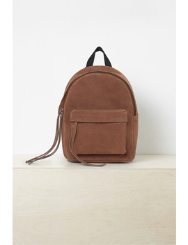 Libby Suede Backpack by French Connection