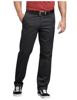 Dickies X Series Active Waist Slim Tapered Fit Washed Chino Pants by Dickies
