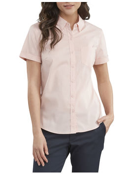 Women's Stretch Button Up Shirt by Dickies