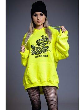 Yellow Ftb Hoodie by Coal N Terry
