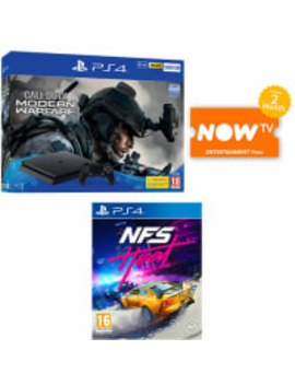Ps4 500 Gb Call Of Duty: Modern Warfare Bundle + Need For Speed: Heat + Now Tv by Game