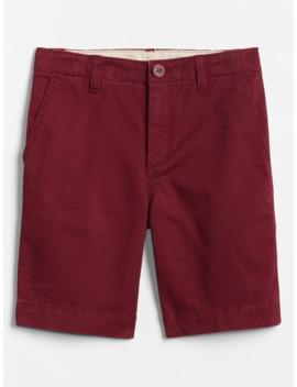 Kids Flat Front Shorts by Gap