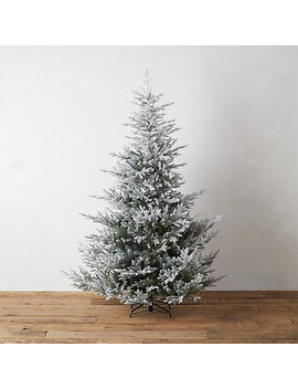 Snowy Faux Norway Spruce by Terrain