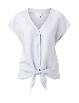Knot Front Spliced Top by Witchery