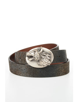 Mm11 Leather Belt 25 Mm by Maison Margiela