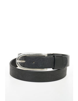 Mm11 Leather Belt 30 Mm by Maison Margiela
