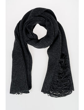 Mm10 Wool Scarf by Maison Margiela