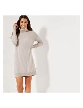 Cowl Neck Sweater Dress by Joe Fresh