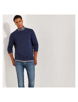 Men's Crew Neck Sweater by Joe Fresh