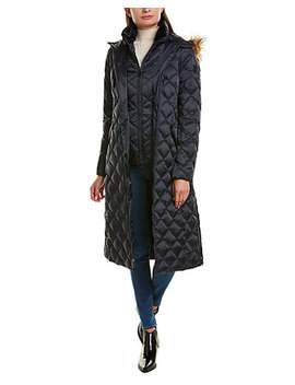 Laundry By Shelli Segal Maxi Puffer Down Coat by Laundry By Shelli Segal