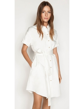 Belted Shirt Dress by Cue