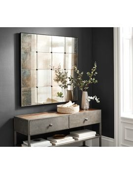 Markle Antique Panel Mirror by Pottery Barn