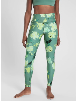 Painted Flower Elation 7/8 Tight In Powervita by Athleta