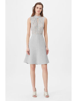 Tailored Aime Jacquard & Clean Suiting Dress by Rebecca Taylor