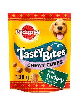 Pedigree Tasty Bites Chewy Cubes With Turkey Dog Treats 130g Pedigree Tasty Bites Chewy Cubes With Turkey Dog Treats 130g by Wilko