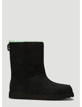 X Ugg Block Boots In Black by Eckhaus Latta